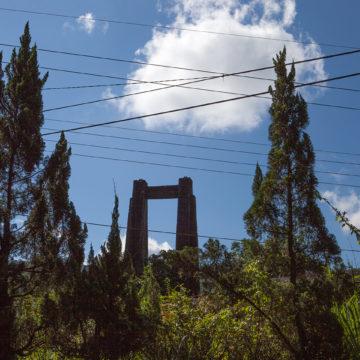 吊橋,車站,嶺腳,攝影,記實,記錄